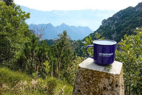 MTB Xpert Emaille Tasse